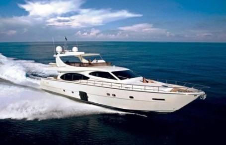 76' Ferretti Luxury Yacht Charter Seychelles