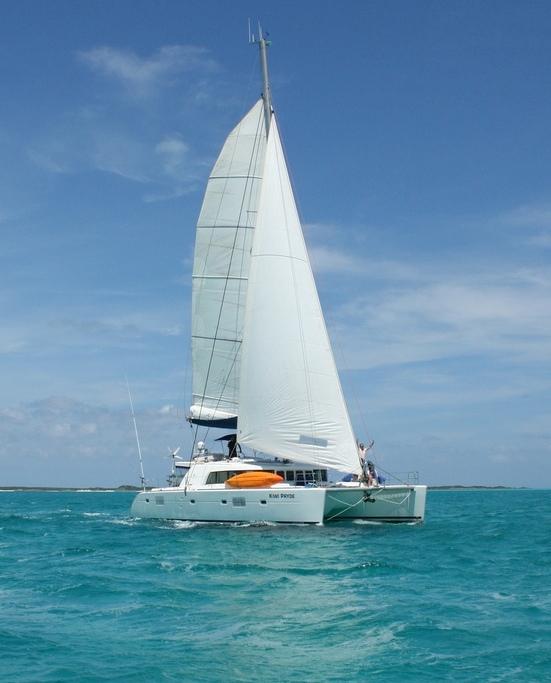 Bahamas catamaran charter KIWI PRYDE